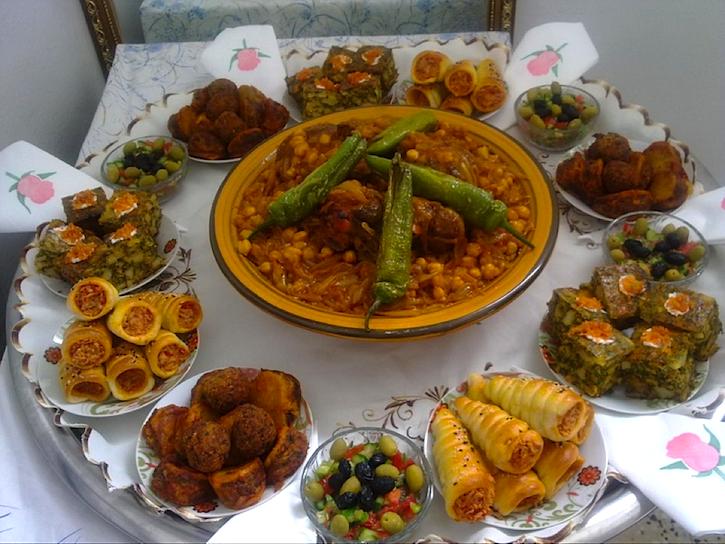 اكلات ليبية رمضانية حارة بالصور